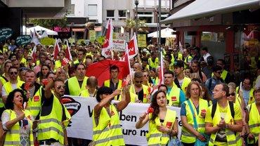 Streiks am 20.07.2015 zur Tarifrunde im Einzelhandel
