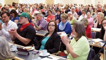 Streikdelegiertenversammlung am 4. Juni 2015