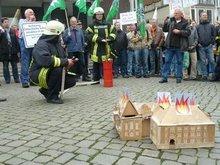 In Bremen dauert es länger bis die Feuerwehr kommt.