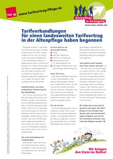 Altenpflege-Info vom Oktober 2015