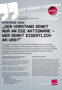 Information für Beschäftigte der Deutschen Bank vom 09.11.2015