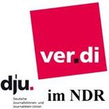 Facebook Logo von ver.di im NDR