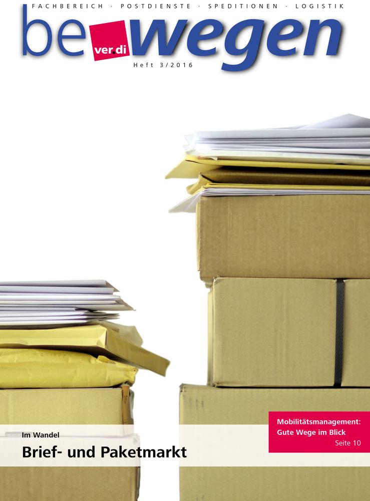 Brief Und Kommunikation Im Wandel : Ver di im wandel brief und paketmarkt