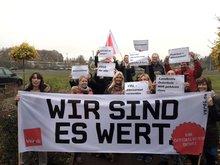 ProArbeit in Bremen – Tarifaktion - Wir sind es wert!