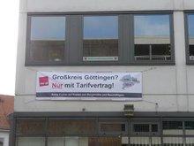 Großkreis Göttingen - Nur mit Tarifvertrag