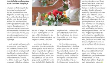 Infopost Altenpflege (05/2016)