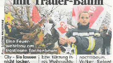 Protest in der Presse