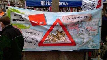 Plakat Demo ver.di Celle