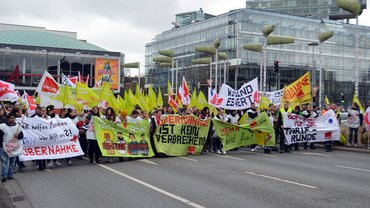 Demo am 19.03.2014 in Hannover
