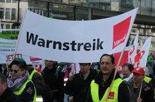 Rund 5.000 Streikende auf zentraler Kundgebung in Hannover