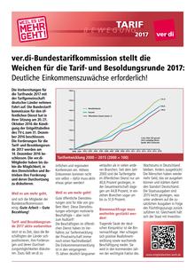 Tarifrunde ÖD der Länder 2017: Auftaktflugblatt