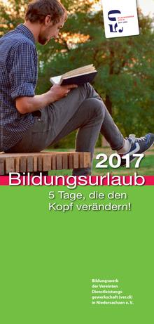 Bildungsurlaub 2017 des ver.di Bildungswerk Niedersachsen