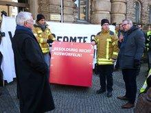 Beamtenaktion am 13.02.2017 in Hannover