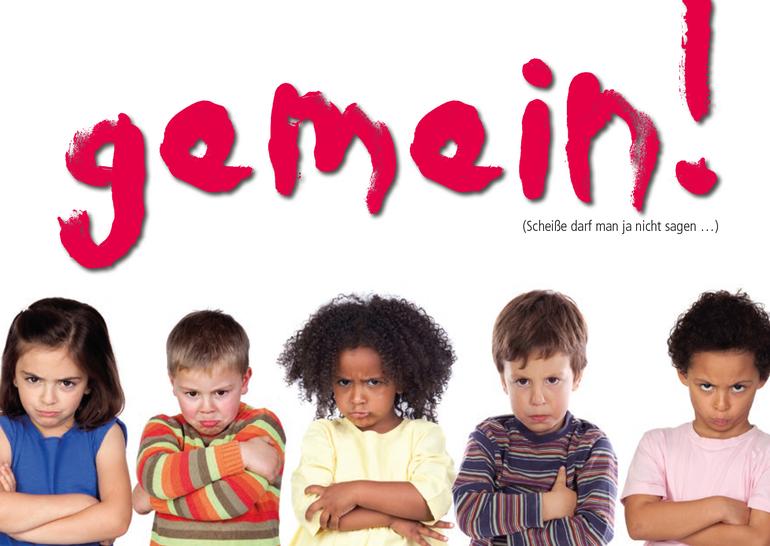 Gemein!: Beschwerdepostkarte für Eltern