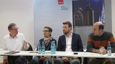 Türkischer Gewerkschafter in Braunschweig