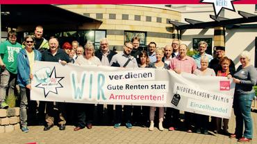 1. Verhandlung Tarifrunde Einzelhandel 2017 Niedersachsen-Bremen