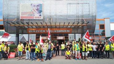 Streik OBI 15.06.2017
