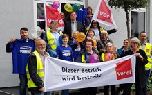 Streik in 4 Bremer Filialen des Postbank Filialvertriebs