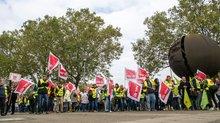 Streik der Postbank-Beschäftigten am 13.10.2017