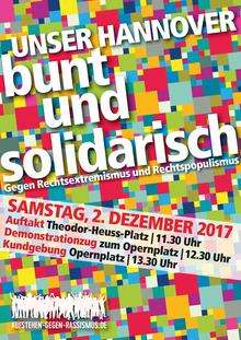 Unser Hannover: Bunt und solidarisch!