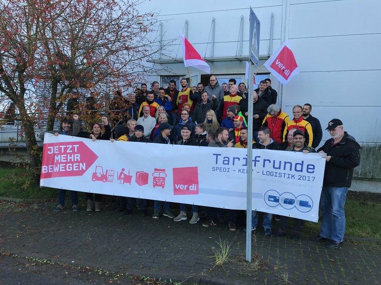 Beschäftigte der DHL Delivery Bremen GmbH sind streikbereit!