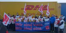 Streik bei DHL Delivery Bremerhaven