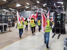 Streik bei Schnellecke Logistics Verpackung GmbH in Wolfsburg