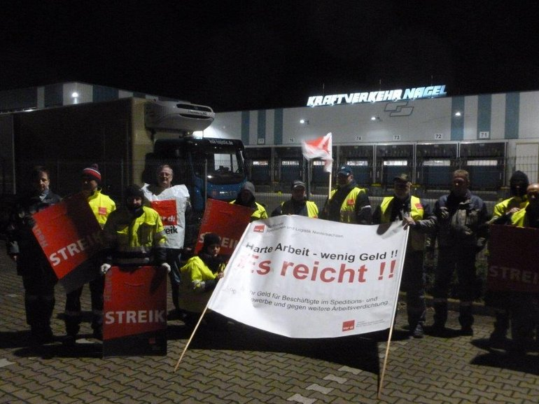 Aktion bei Kraftverkehr Nagel in Wunstorf am 06.12.2017