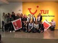 Gruppenbild Lohnrunde 2017 TUI Business Services