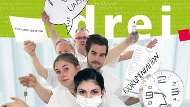 drei.64 (2018): Magazin des Fachbereichs Gesundheit, Soziale Dienste, Wohlfahrt und Kirchen