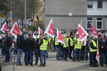 Warnstreik des öffentlichen Dienstes in Hameln, 9.3.2018