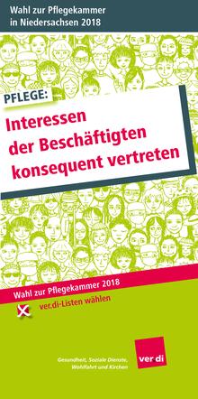 Wahl zur Pflegekammer in Niedersachsen 2018