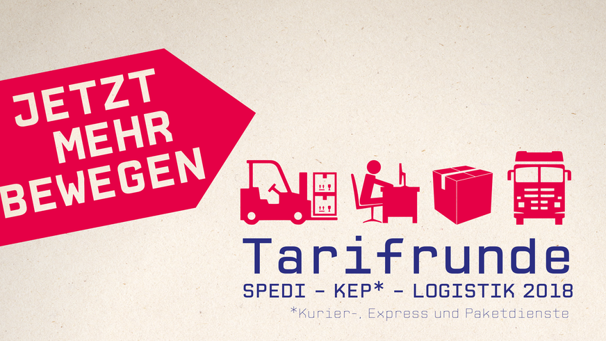 Tarifrunde Spedition-KEP-Logistik 2017 _Bühne