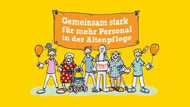 Gemeinsam stark für mehr Personal in der Altenpflege