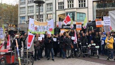 Aktionstag Altenpflege, 21.11.18, Pflege-Demo in Hamburg