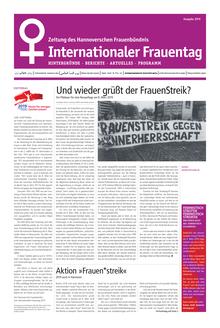 Zeitung des Hannoverschen Frauenbündnis zum Internationalen Frauentag 2019