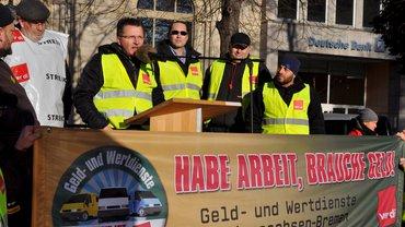 Tarifrunde Geld und Wert Demo Hannover