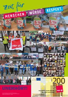Tarifrunde Diakonie Niedersachsen 2019: Zeit für 6% mehr