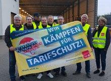 Streik Druckerei Braunschweig am 24.04.2019