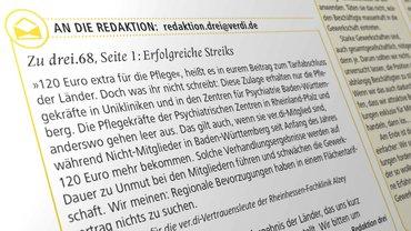 Gesundheit Soziale Dienste Wohlfahrt und Kirchen, drei.69, ÖD Länder, Öffentlicher Dienst, Krankenhaus, Leserbrief