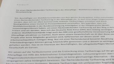 Gesundheit Soziale Dienste Wohlfahrt und Kirchen (ver.di), Altenpflege, DRK, Wohlfahrt und Kirchen (ver.di),
