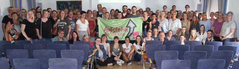 Veranstaltung in Aurich mit 120 Teilnehmenden,