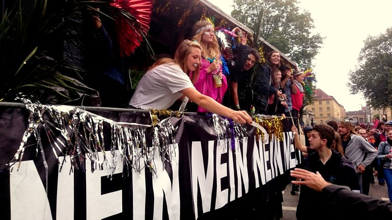 Ausgehetzt-Demo 22.7.2018 München