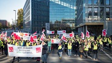 Tarifverhandlungen in der Versicherungswirtschaft: Warnstreik am 30.10.2019 in Hannover