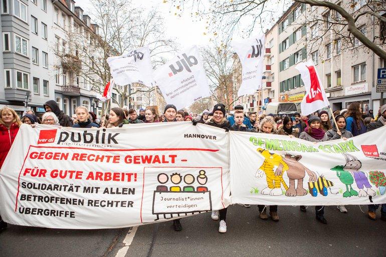 23.11. 2019 Demo gegen Nazihetze