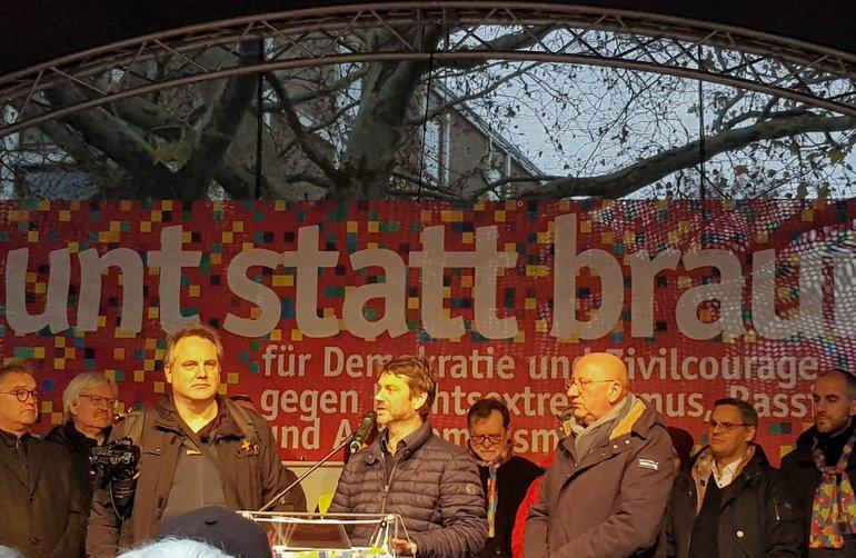 David Jansen und Andreas Speit
