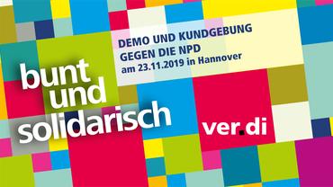 Kundgebung gegen die NPD am 23.11.2019 in Hannover