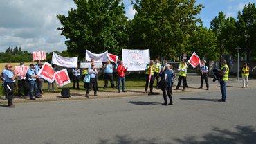 Protestaktion vor der BGE am 03.07.2020 in Morsleben
