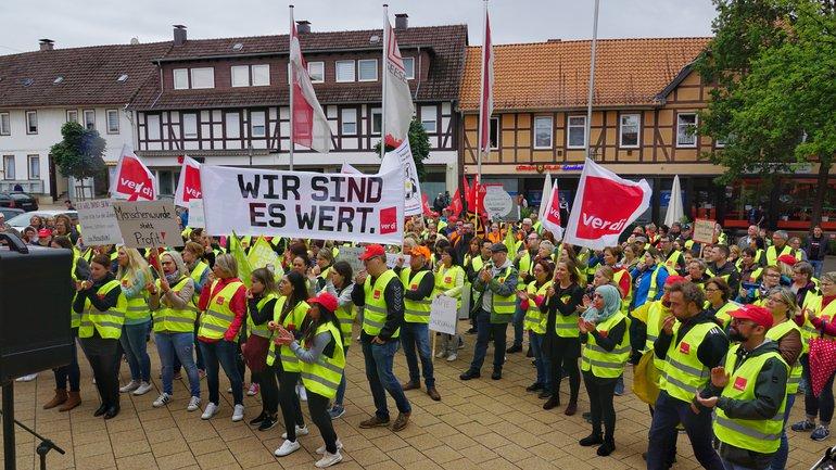 Erfolgreicher Streik in den Asklepios-Kliniken Seesen