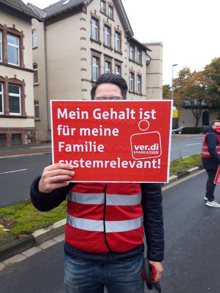 Sparkassenstreiktag in Niedersachsen am 15.11.2020